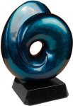 Blue Art Sculpture Award Sales Awards
